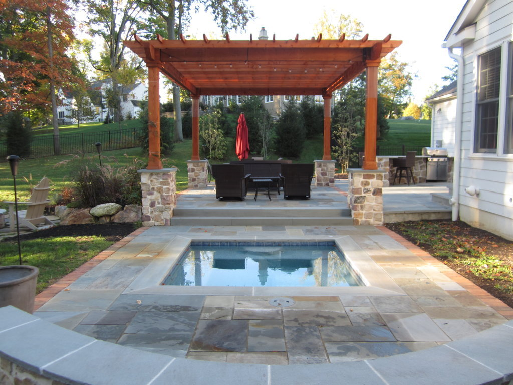 Patio Stone Walls : Patios walkways and walls burkholder landscape