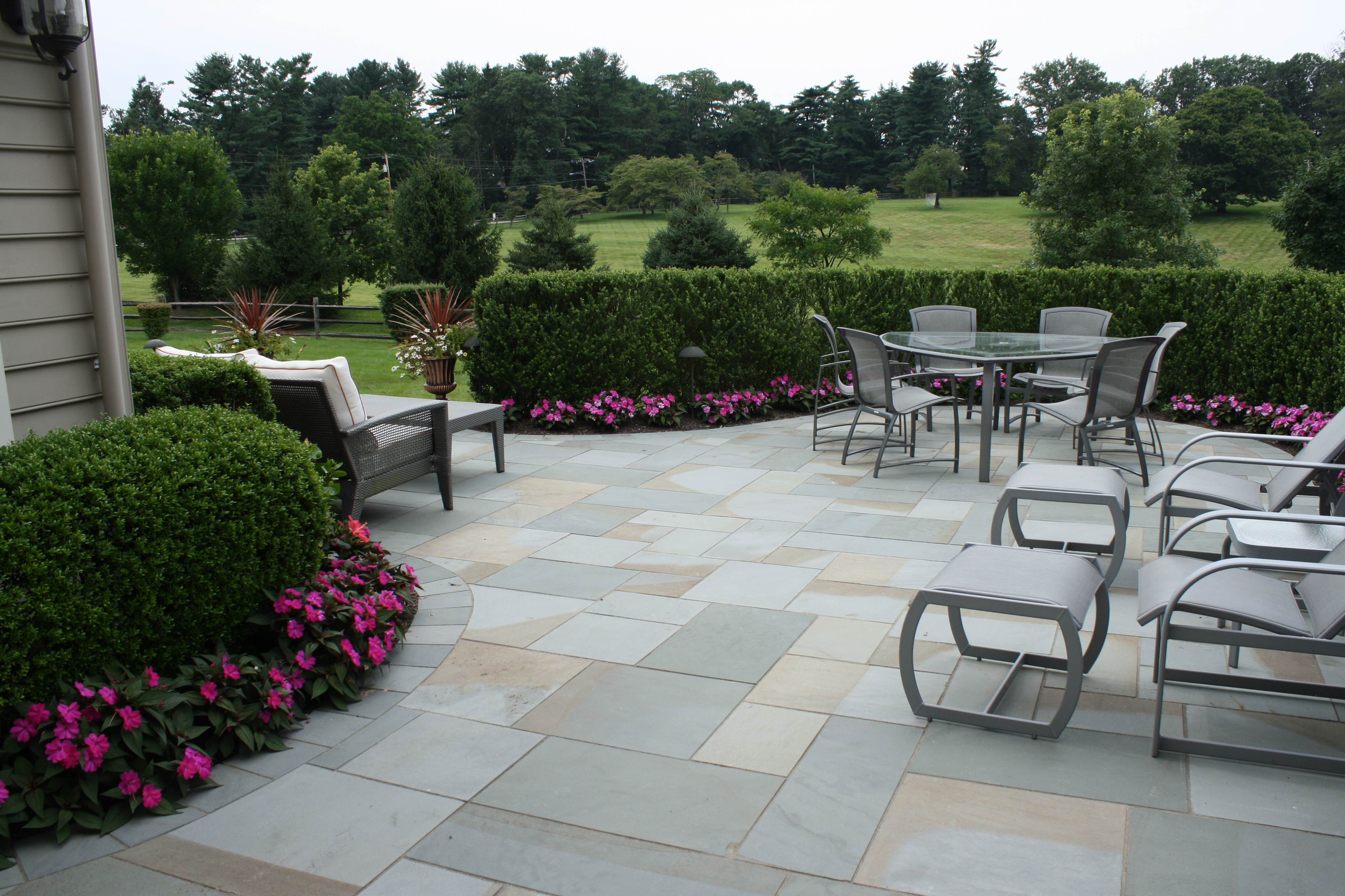 Thermal Cut Bluestone Patio