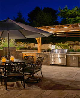 Elegant A Custom Lighting Package Will Assist In Showcasing Special Features In  Your Landscape And Garden Areas, While Also Offering The Right Amount Of  Interest To ...