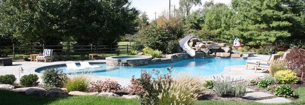 Landscaping Design in St Davids - Burkholder - poolscape