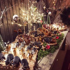 BURKHOLDER - animal figurines holiday market