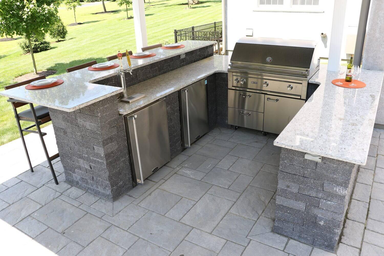 Custom Built Outdoor Kitchens Amp Grills Burkholder Landscape