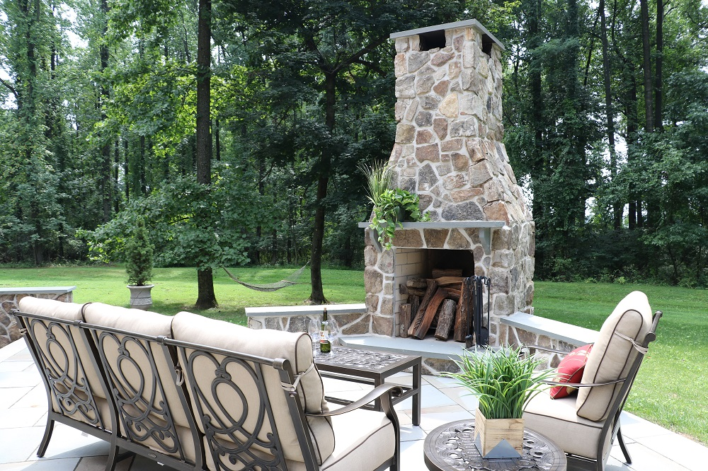 Outdoor Fireplaces And Fire Pits Enhance Any Outdoor Space Burkholder