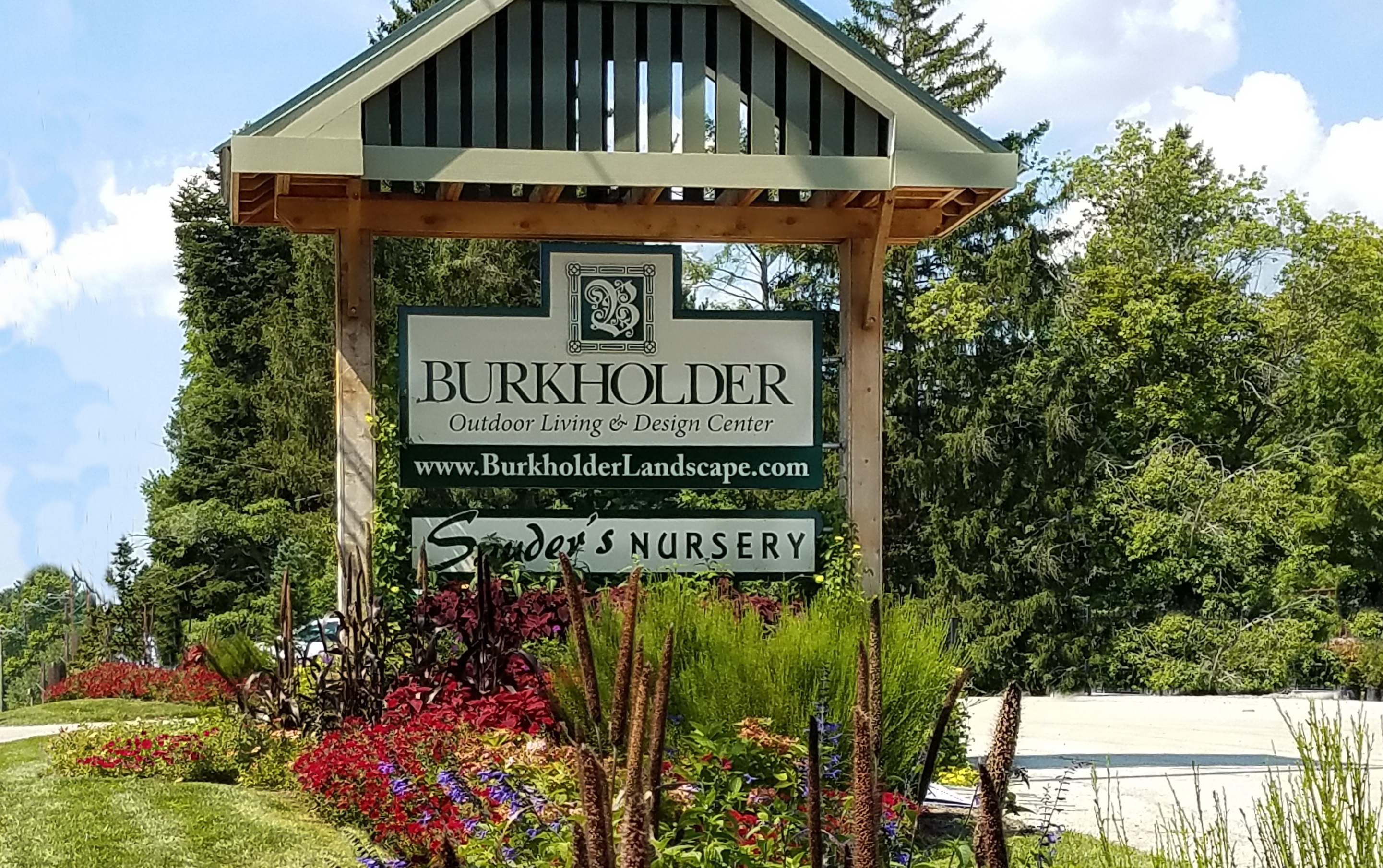 Burkholder Design Center Sign
