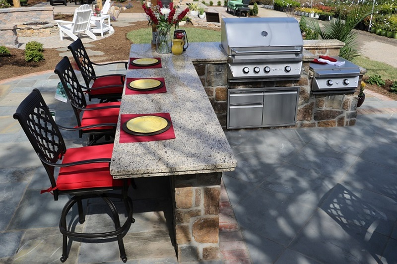 Patio Renovations-Outdoor Kitchens - Burkholder Landscape