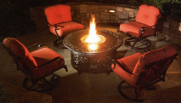 Night time fire table - Burkholder