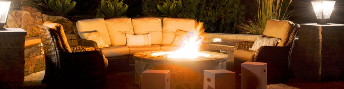 Burkholder Highlights the Benefits of Having a Permanent Outdoor Firepit