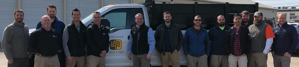 visit to shreiner tree care 2019 - burkholder