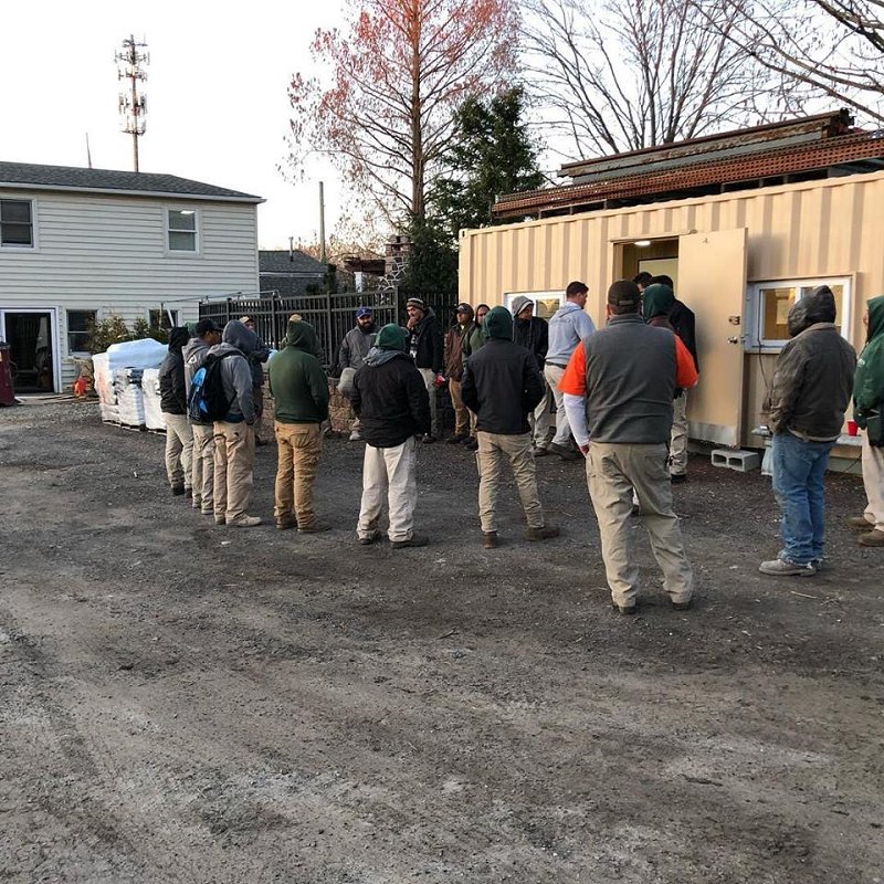 Burkholder Brothers Landscaping team training session 2019